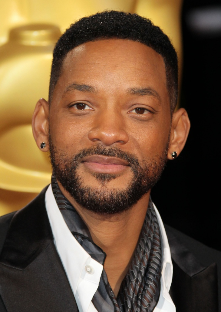 Will Smith Low Afro Cut