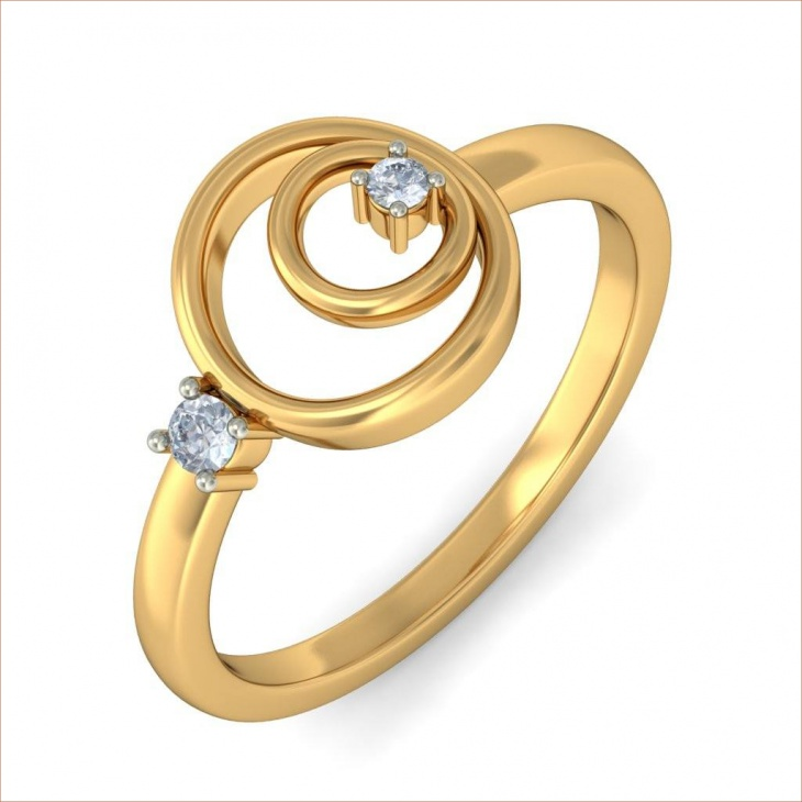 25 Gold Ring Designs Models Trends