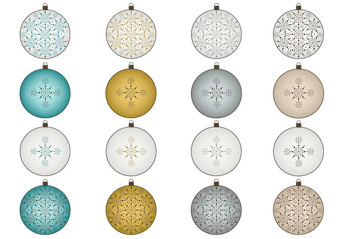 snowflake christamas ornaments