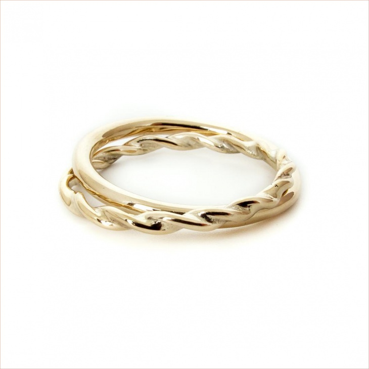 Excellent Gold Ring Design for Wedding