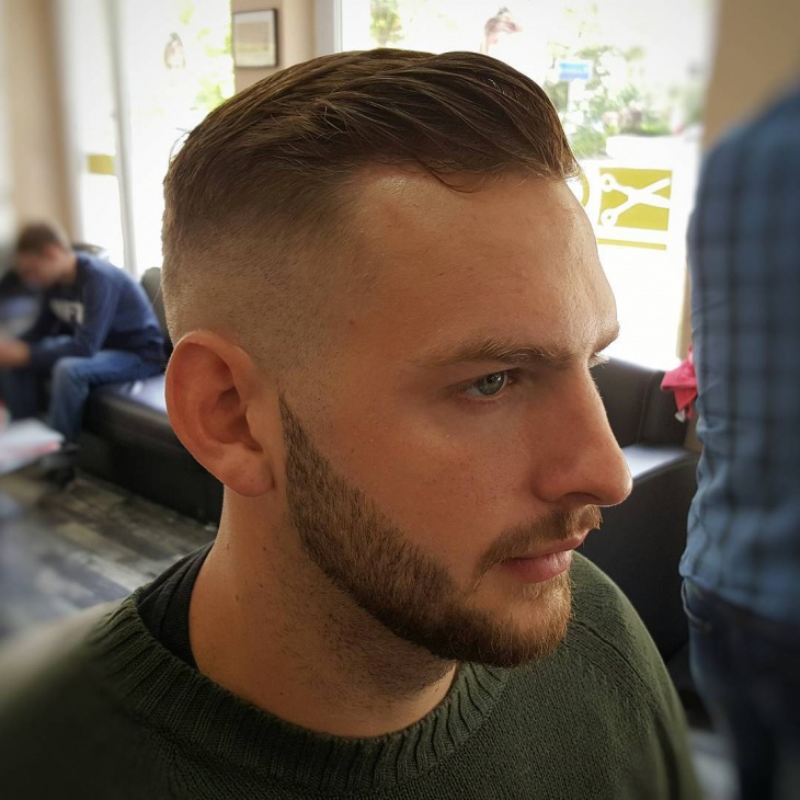 Middle High Fade Hairstyle Design