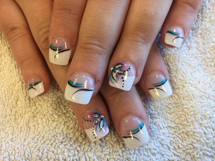 Nail tips designs graham reid for Acrylic nail decoration