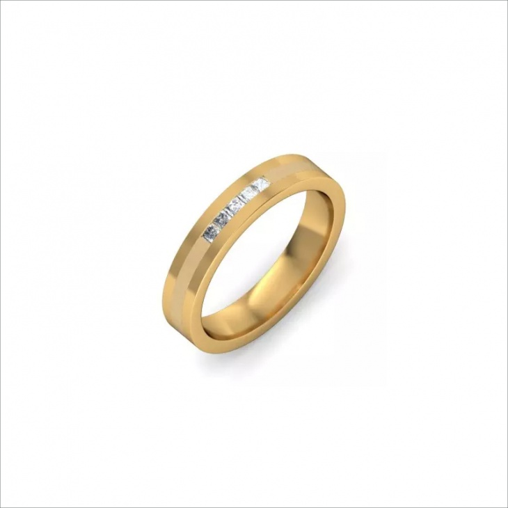 Circle Ring Design for Men