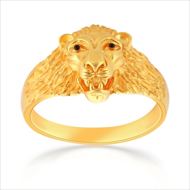 Lion Ring Design for Men