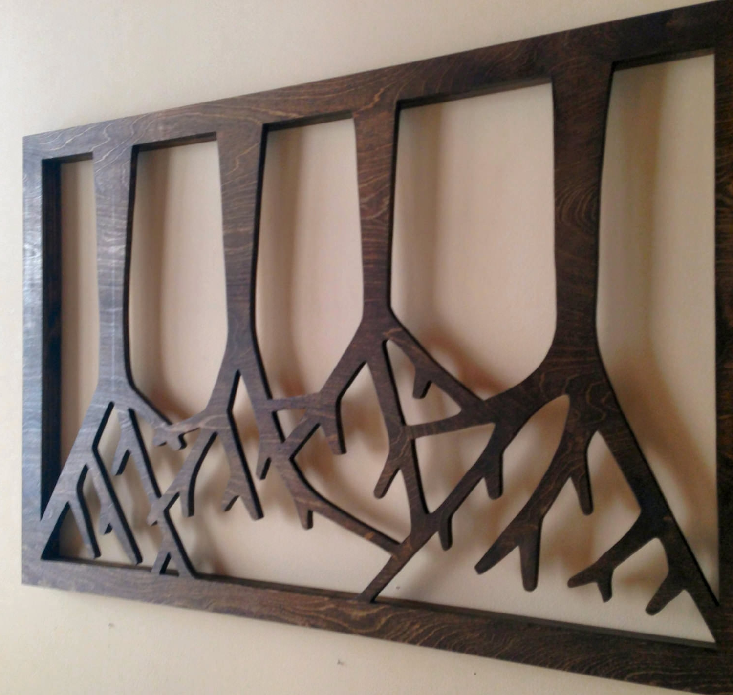 wood wall art design - Wooden Wall Decoration Ideas