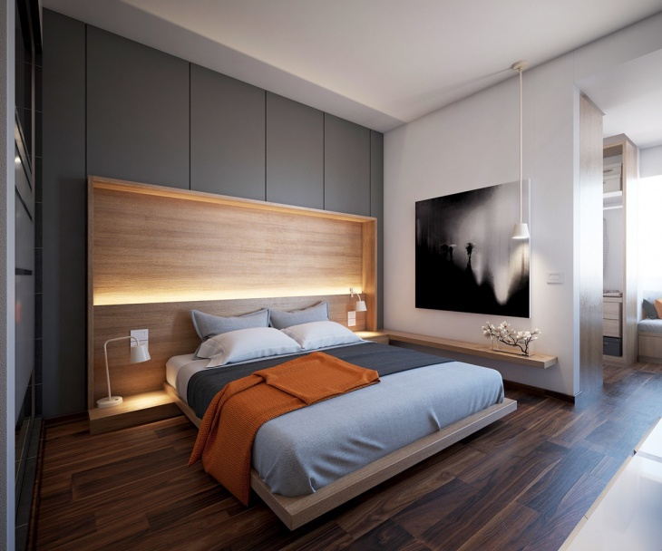 Master Bedroom Wooden Interior