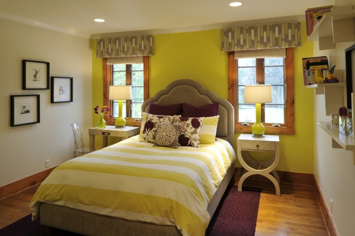 Yellow Decor Ideas For Bedroom