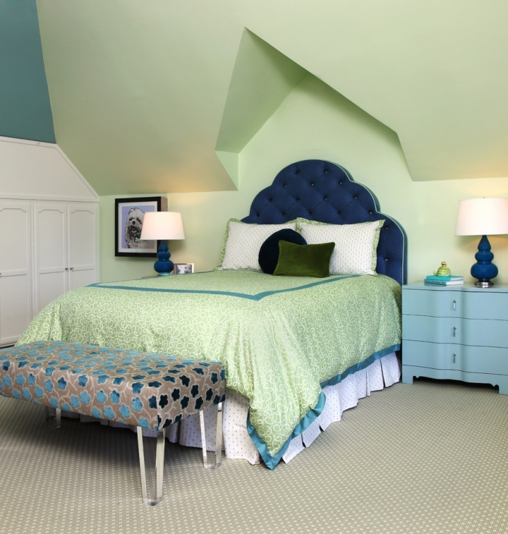 20 vintage teen girls bedroom designs decorating ideas for Bedroom ideas green