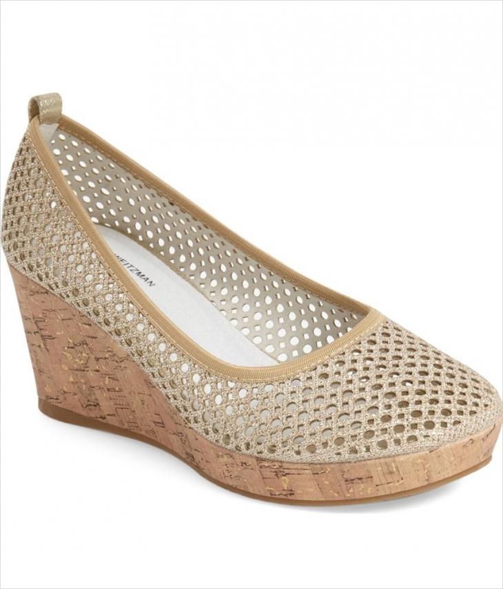 glamorous Wedge sandal set