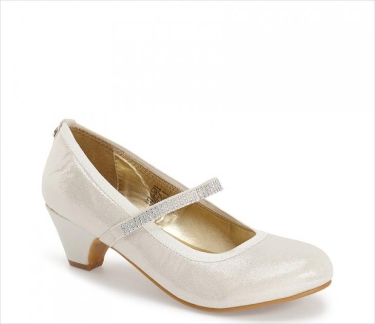 Little Girls Party Shoe Design