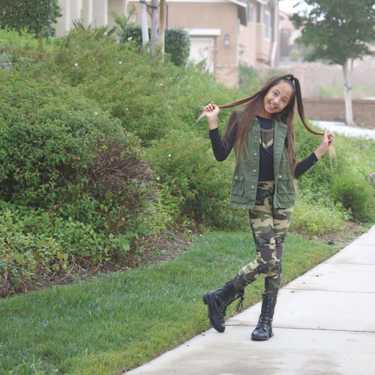 Girls High Heel Boot Idea
