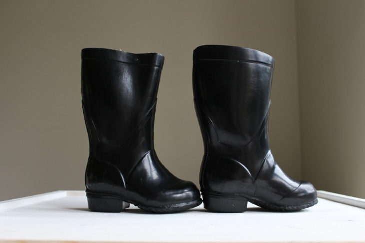 toddler rubber boots idea
