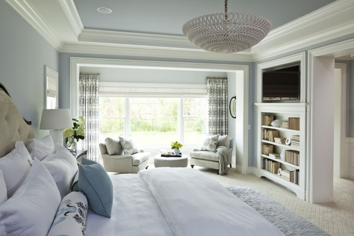 Grey Master Bedroom Interior Design