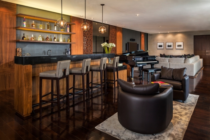 21+ Living Room Bar Designs, Decorating Ideas | Design Trends ...