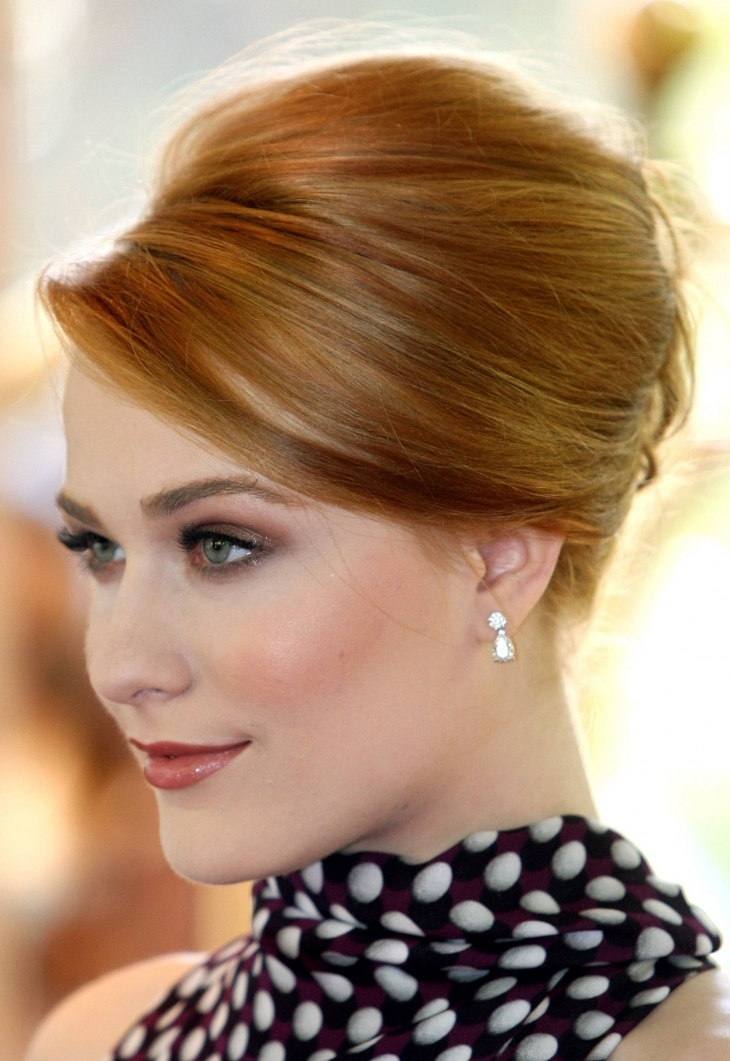Classic Bridal Updo Hairstyle : 20 wedding updo haircut ideas designs hairstyles design