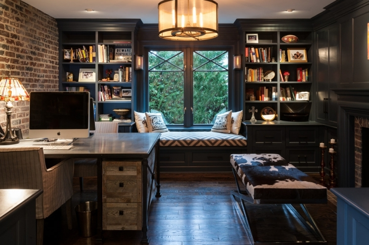 20 industrial home office designs decorating ideas Custom home office design