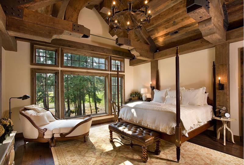 Beautiful Jaw Dropping Rustic BedRoom Design