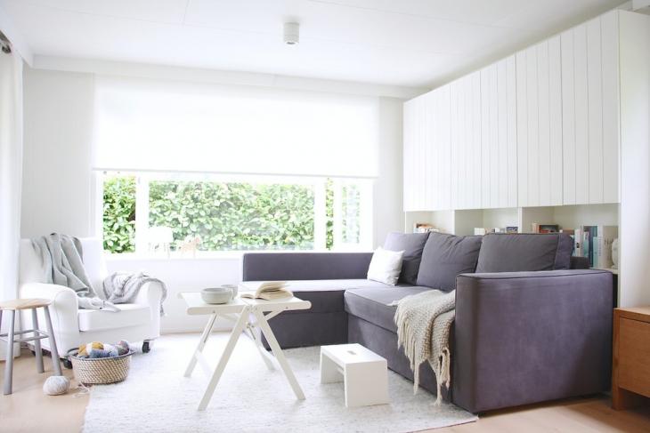 Shabby L Shape Sofa Design