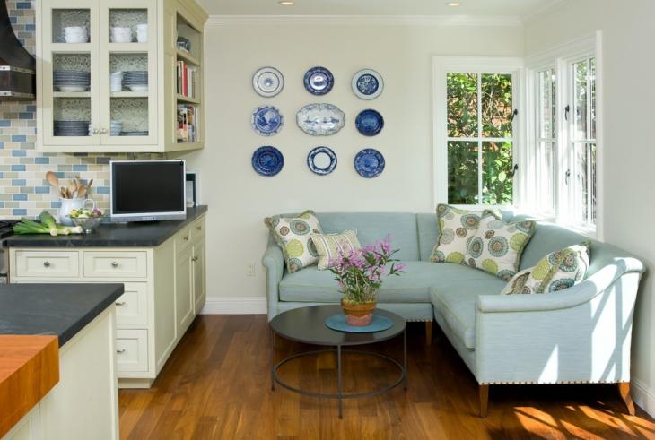 Minimalistic l Shape Sofa Det