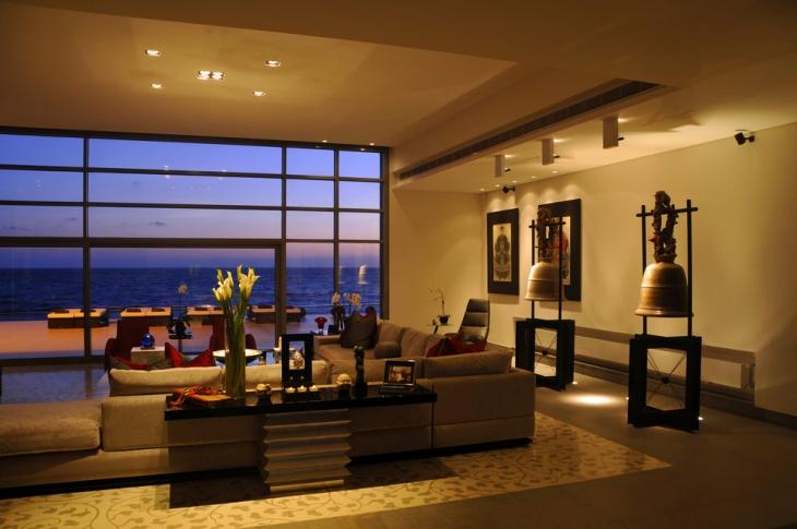 Elegant L Shape Sofa Design