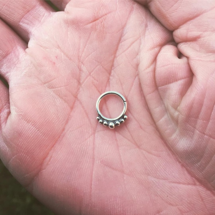 Silver Nose Ring for Women