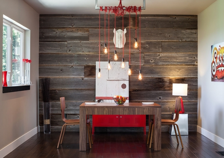 Modern Wall Decor Idea For Dining Room