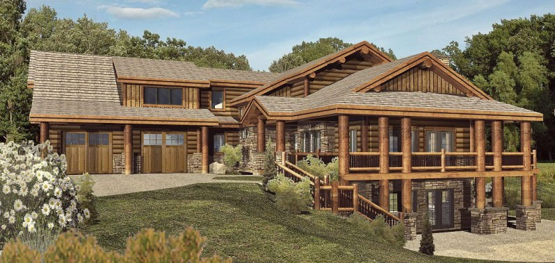 Wisconsin Log House Design