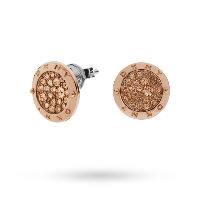 creative rose gold earrings