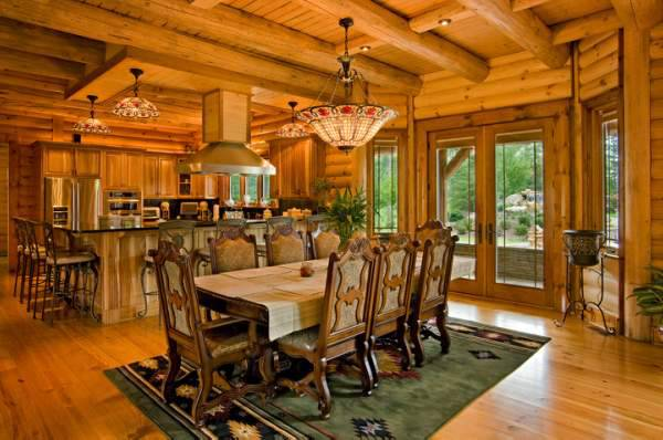 Inspiring Log House Design