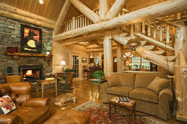 Traditional Log House Design