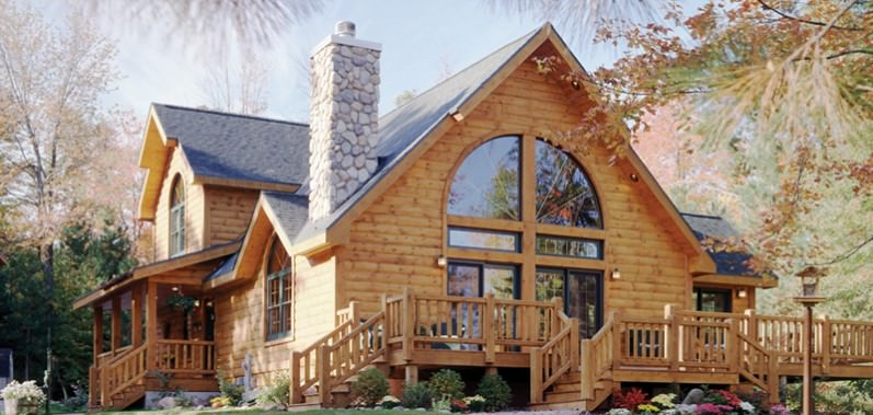 Waterford Log House Design
