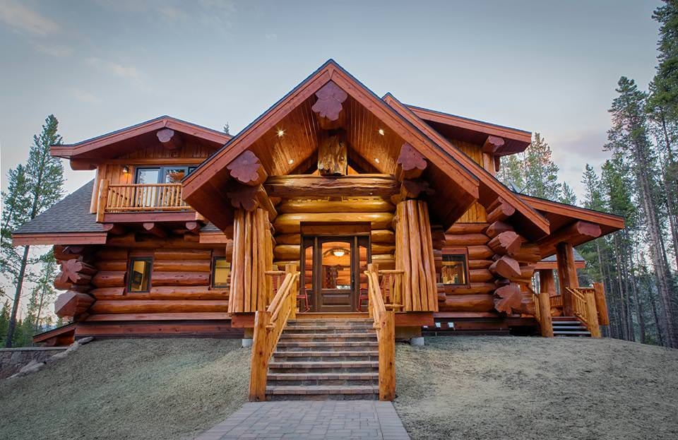 Stunning Log House Design