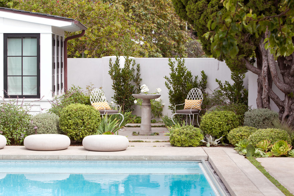 Molly Wood Garden Design With Pool