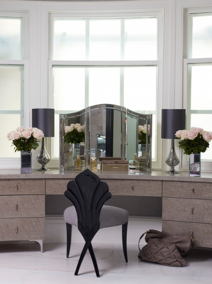 stunning designer dressing table