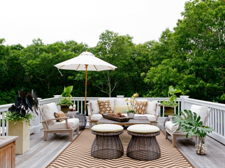 Traditional Deck For Outdoor