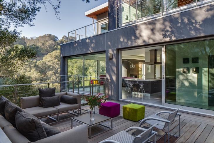 gray sofa design idea