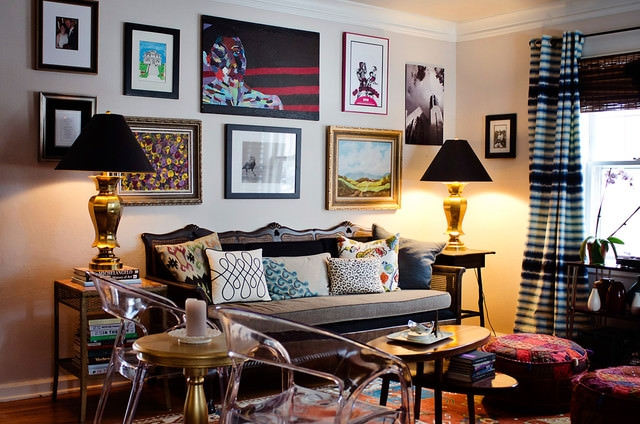 27+ Eclectic Living Room Designs, Decorating Ideas | Design Trends ...