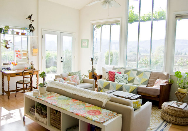 27 Eclectic Living Room Designs Decorating Ideas Design Trends Premium