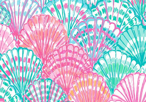 Lilly Pulitzer Background for Mobiles