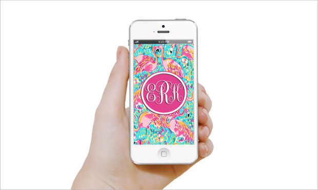 Lilly Pulitzer Mobile Background