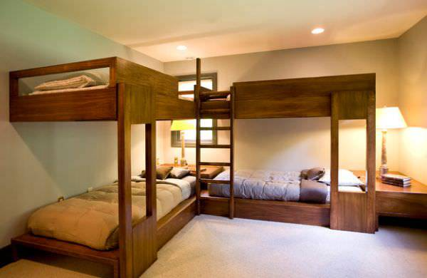 Adult Bunk Bed Design