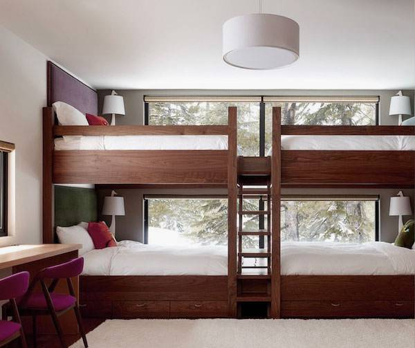 Cozy Bunk Bed Design