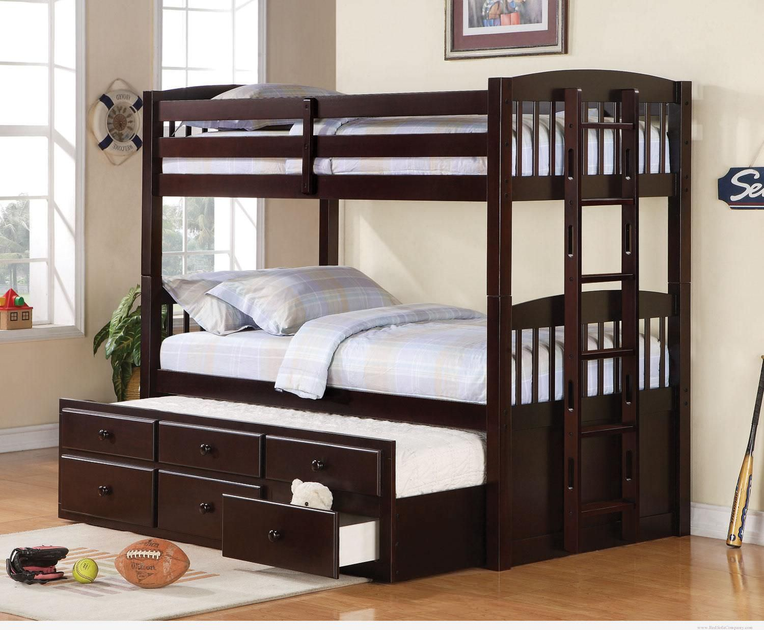 trundle bunk bed design