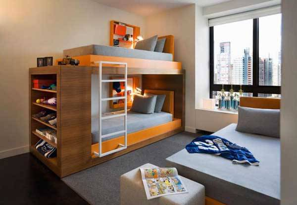 fresh space bunk bed design