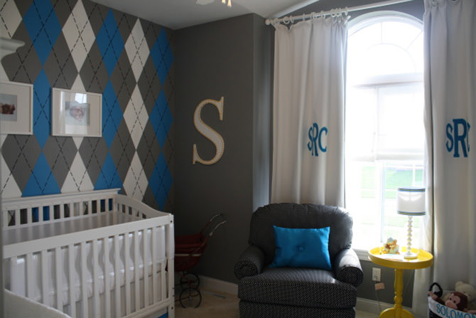 Baby Boy Nursery Room Design