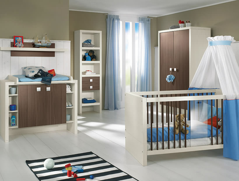 Decorating Baby Boy Nursery Design