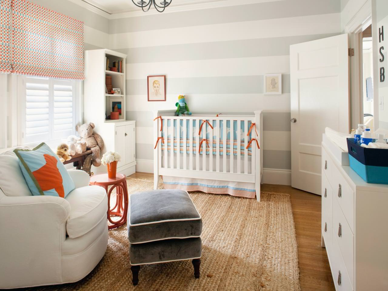Elegant Baby Boy Nursery Design