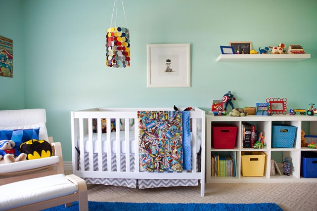 Super Baby Boy Nursery Design