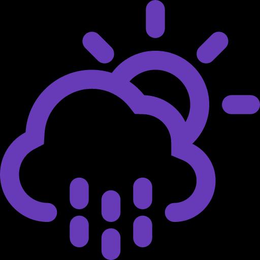 Rainy Day Weather Background