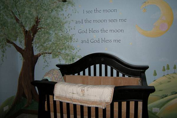 19 baby boy nursery designs bedroom designs design for Baby boy mural ideas